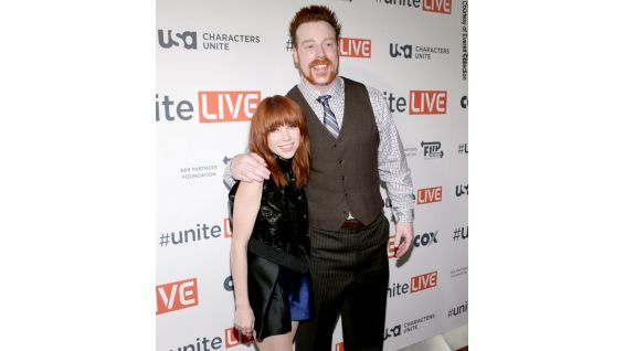 The Celtic Warrior meets pop star Carly Rae Jepsen on the red carpet.