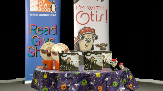 "Oct. 3 was The Pearson Foundation and Jumpstart's Read for the Record event, where millions of people across the country read the children's book ""Otis"" by Loren Long."