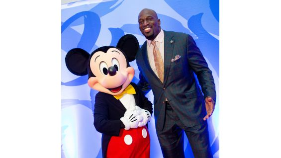 Titus O'Neil recruits Mickey Mouse to Titus Worldwide!