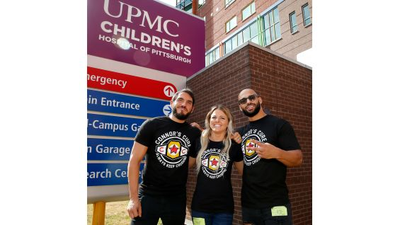 NXT Superstars visit kids at UPMC Children's Hospital of