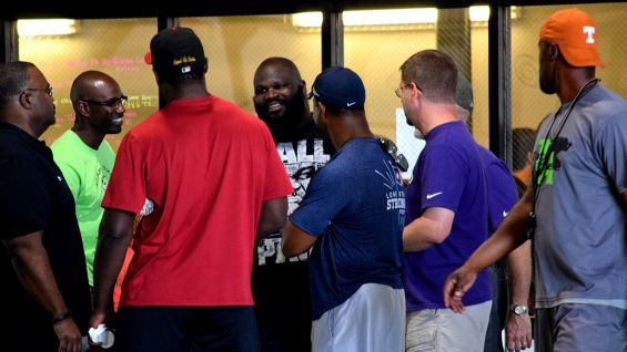 Mark Henry attends ACTIVATE with Jack and Jill of America in Austin, Texas. The interactive event teaches Austin-area youth about fitness, wellness and nutrition.