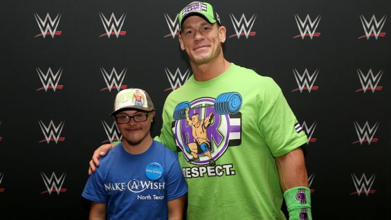 John Cena spełnił dwa marzenia z Make-A-Wish