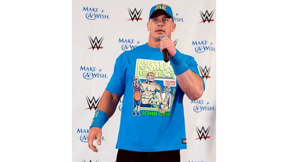 WWE welcomes 27 families to the eighth annual Make-A-Wish pizza party, the Friday before WrestleMania 31.