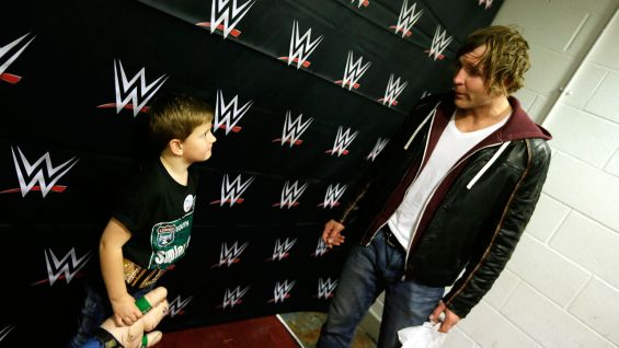 Circle of Champions: Dean Ambrose grants Ben's wish in Manchester