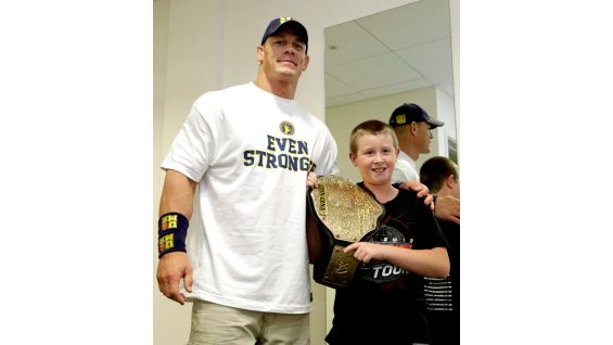 Cena meets Connor in Leeds, England.