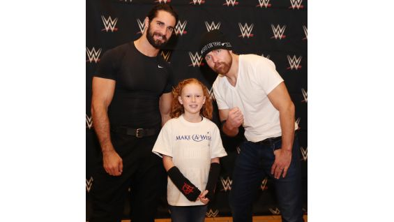 Seth rollins dean ambrose grant wishes before survivor series 2017 seth rollins dean ambrose grant wishes before survivor series 2017 photos wwe community m4hsunfo