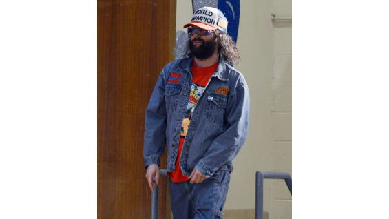 They were joined by comedian Judah Friedlander.