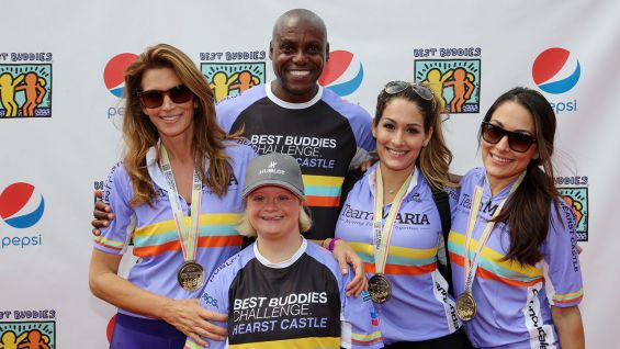 The Bella Twins Join The Best Buddies Challenge 2015