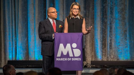 Savannah Guthrie and Mike Tirico host the event.