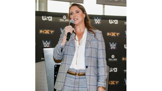 WWE Chief Brand Officer Stephanie McMahon appears to discuss the great partnership between Full Sail and WWE.