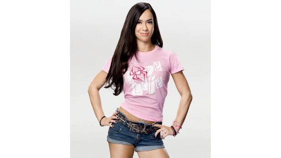 A pink version of AJ's shirt is also available.