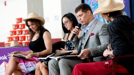 "Stephanie McMahon, AJ Lee and Cody Rhodes read ""Otis"" by Loren Long."