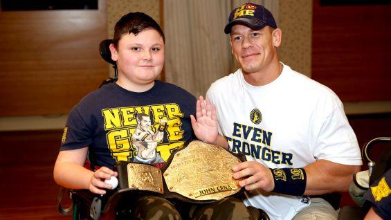 John Cena meets Walter, who is 13.