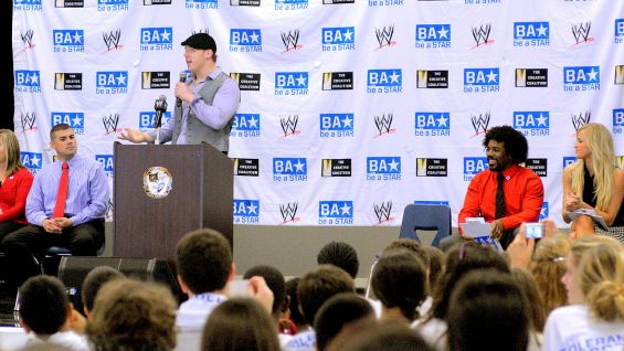 Sheamus has been a longtime supporter of Be a STAR.