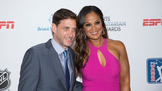 ESPN personality Mike Greenberg and Laila Ali host the event.