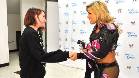 """It sounds a little cliché, but I was blown away by the fact that she wanted to meet me,"" Natalya said. ""It was extremely flattering but also very humbling."""