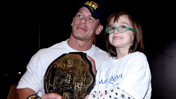 World Heavyweight Champion John Cena meets Chloe.