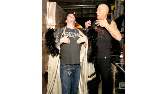 They also get to meet WWE Tag Team Champion Goldust.