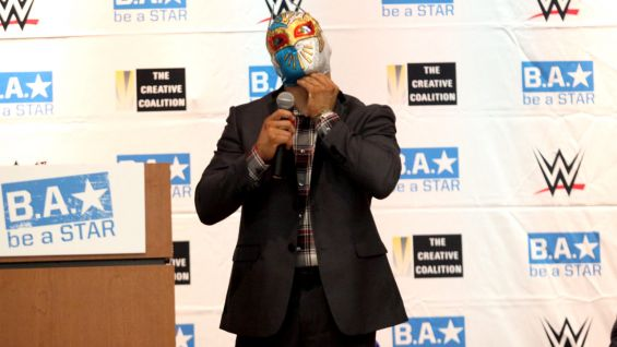 WWE Superstar Sin Cara opens up about his experiences with being bullied.