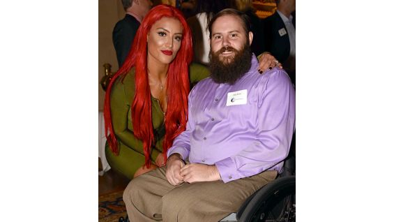 SoldierSocks ambassador Dan Rose, a veteran living with paralysis, was a special guest at WWE's SmackDown last year.
