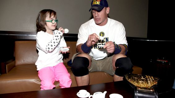 Chloe, 7, is from Make-A-Wish.