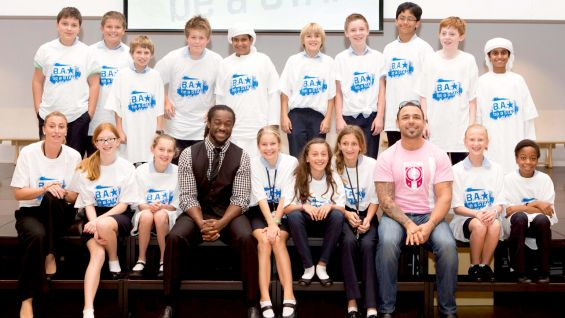 WWE Superstars have spoken to thousands of students around the world about Be a STAR.