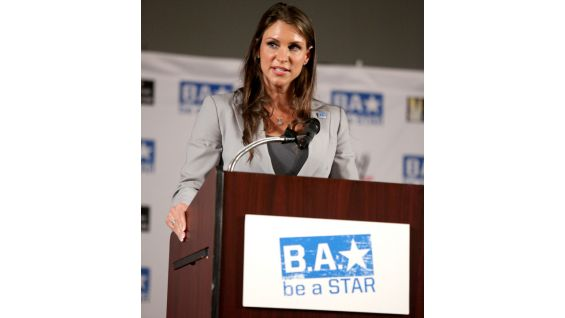 WWE Executive Vice President of Creative Stephanie McMahon talks about the importance of the Be a STAR anti-bullying Alliance.