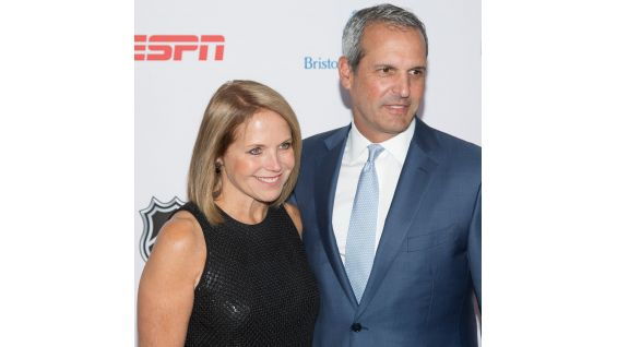 Katie Couric and her husband John Molner are in attendance.