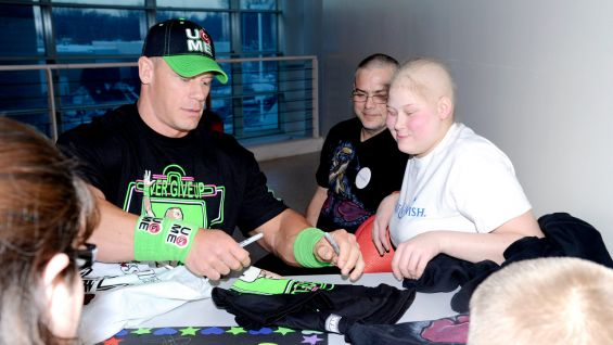 John Cena has granted more than 400 wishes and counting with Make-A-Wish!