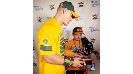 "Cena surprised Rocco on ""TODAY"" on Aug. 20 to reveal that the wish would take place Monday at Raw."