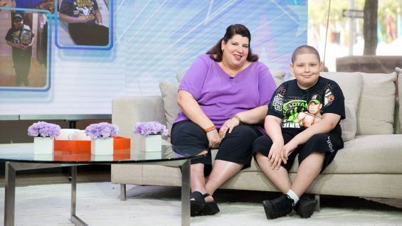 "Rocco and his mom, Maria, are in for a big surprise on ""Today."""