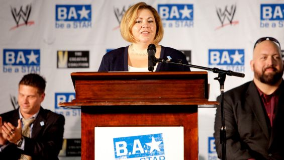 Congresswoman Linda Sanchez stresses the importance of the Be a STAR Alliance's message.