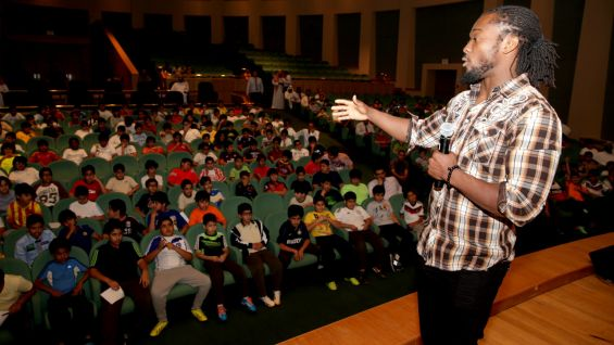 Wwe Superstars Host A Be A Star Rally In Saudi Arabia