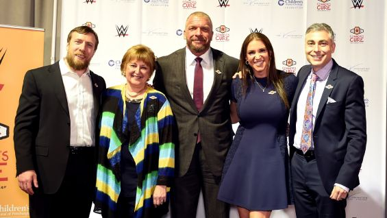 """In 2014, Connor's Cure was created by WWE Chief Brand Officer Stephanie McMahon and WWE Executive Vice President Talent, Live Events & Creative Paul """"Triple H"""" Levesque."""