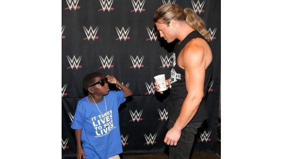 """Little JJ"" left a mark on the WWE Universe when he interviewed Superstars at the WrestleMania 34 press conference."