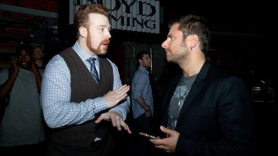 "Sheamus chats with James Roday of USA Network's ""Psych."""