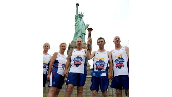 They also stop at the Statue of Liberty.