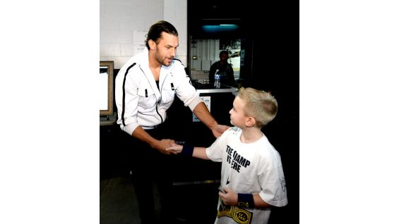 Will is excited to meet some of his favorite Superstars before Survivor Series in Boston.