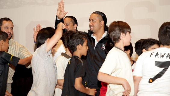 WWE Superstars and Divas have spread the Be a STAR message to thousands of kids throughout the world!
