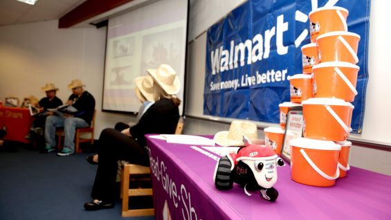 Walmart takes part in the Reading Celebration.