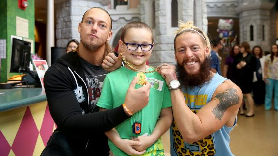 Enzo Amore and Big Cass help a young fan become a Certified G.