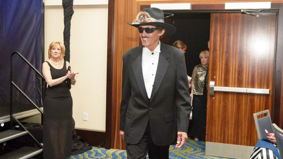 NASCAR legend and Hall of Famer Richard Petty.