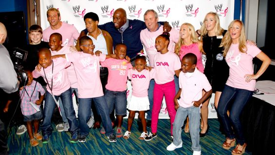 "WWE hopes to raise ""millions of dollars"" for Komen."