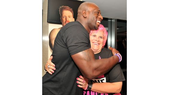 Titus O'Neil has been a longtime supporter of WWE's partnership with Komen.