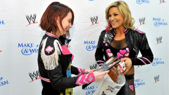 """Both of us were nervous when we met each other, but then afterward we were just like two girls, chatting about clothes and hair and makeup and boys and my cat, Gizmo. It was just really cool,"" Natalya said."