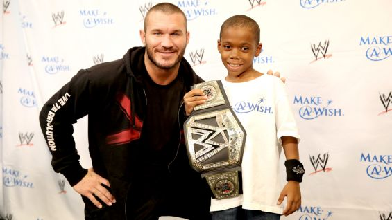 Brandon is 7 and from Make-A-Wish.