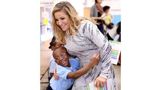 """The """"Total Divas"""" star is always ready for a hug!"""