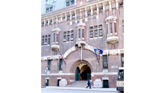 The 69th Regiment Armory was completed in 1906 and was declared a National Historic Landmark in 1965.