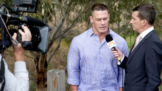 "John Cena joins Australia's ""Today"" show for this very special wish."