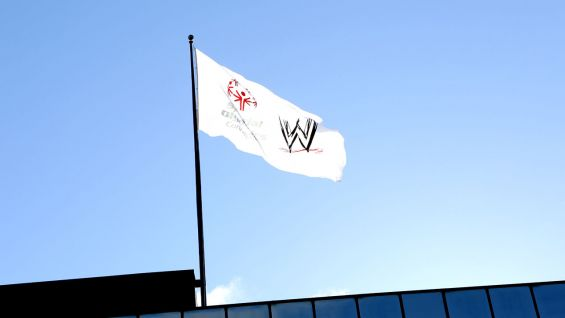 WWE shows its support for the 2013 Special Olympics Connecticut Summer Games.